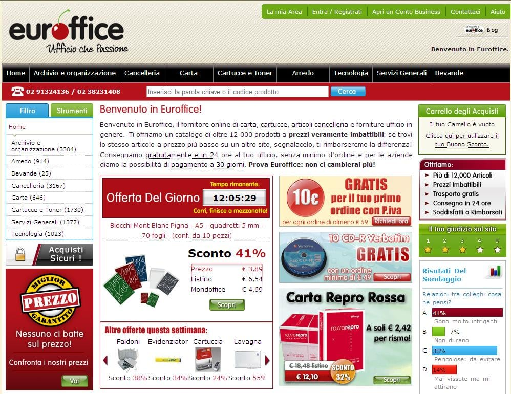 Euroffice italia quipement pour le bureau garibaldi 1 for Numero senatori e deputati in italia