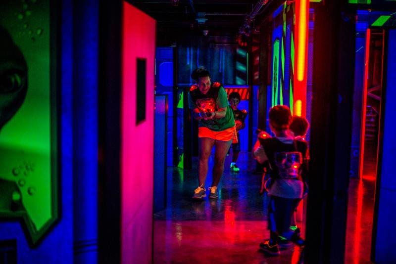 Best Laser Tag Game In Raleigh 2 000 Sq Ft With Two