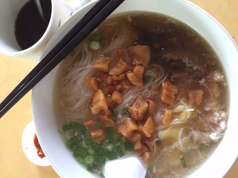 Teochew Kway Tiao Soup