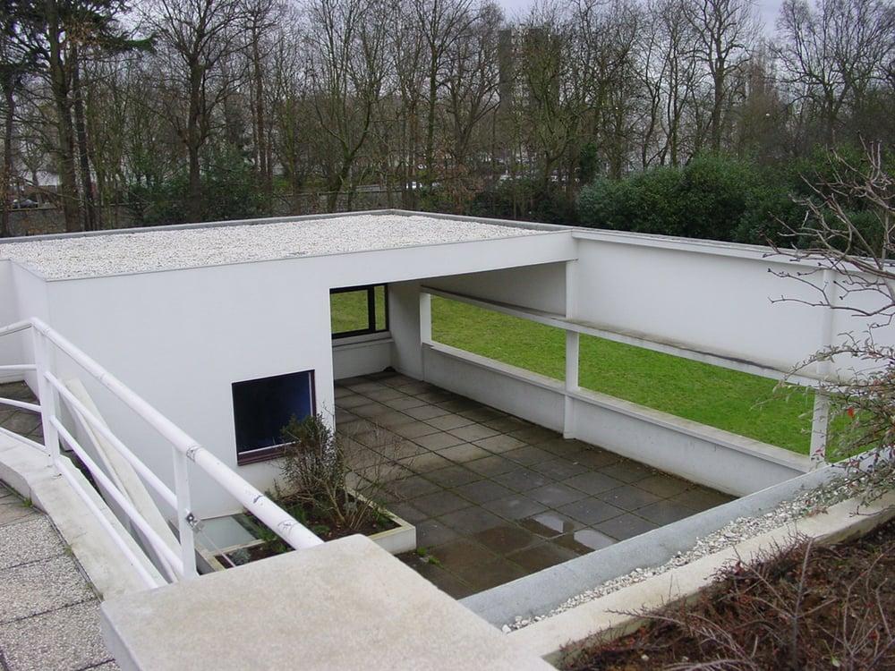Le corbusier tra i 5 punti della nuova architettura qui - Le corbusier tetto giardino ...