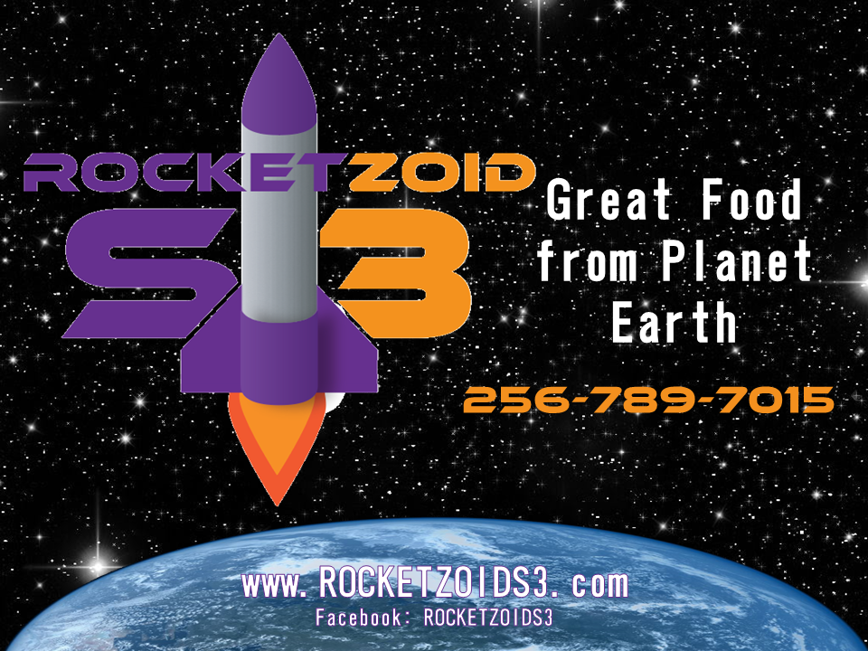 Rocketzoid S3: 10109 Hwy 64, Lexington, AL