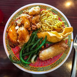 Photo Of Hunan Garden Joplin Mo United States My Plate From The