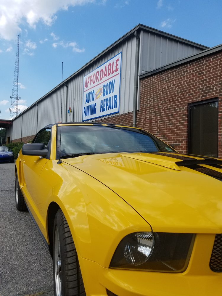 Affordable Auto Painting and Body Repair