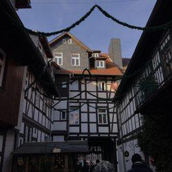 Wernigerode Weihnachtsmarkt.Weihnachtsmarkt Weihnachtsmarkt Marktplatz Wernigerode Sachsen