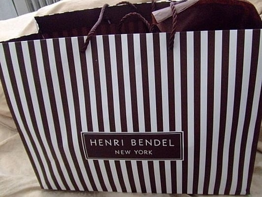 Henri Bendel Shopping Bag