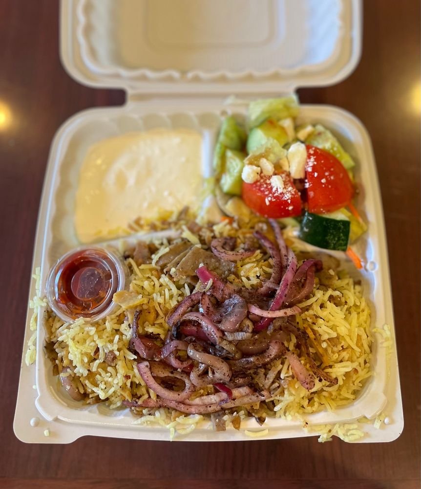 Sam's Mediterranean Cuisine: 301 B St, Davis, CA