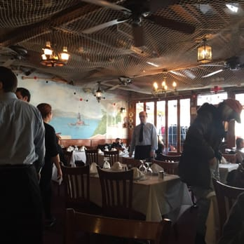 Photo of Liman Restaurant - Brooklyn, NY, United States. Inside the dining  room