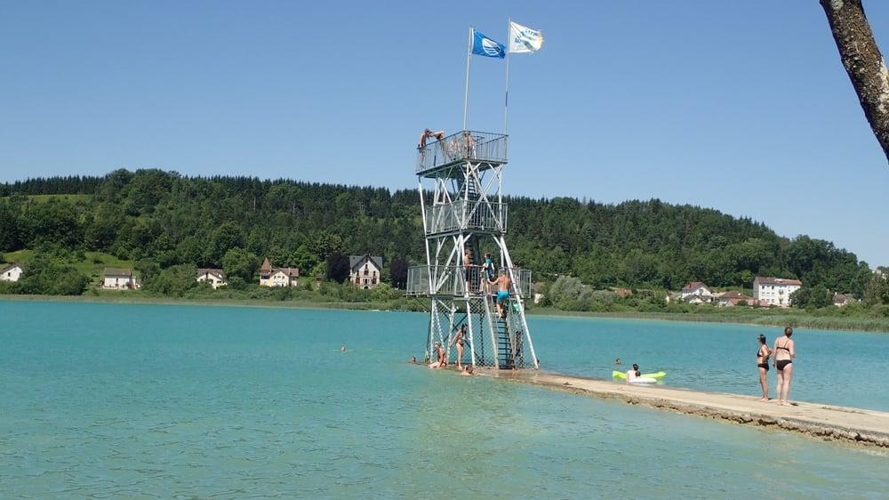 Clairvaux les lacs 39 jura france plongeoirs de la - Office du tourisme clairvaux les lacs ...
