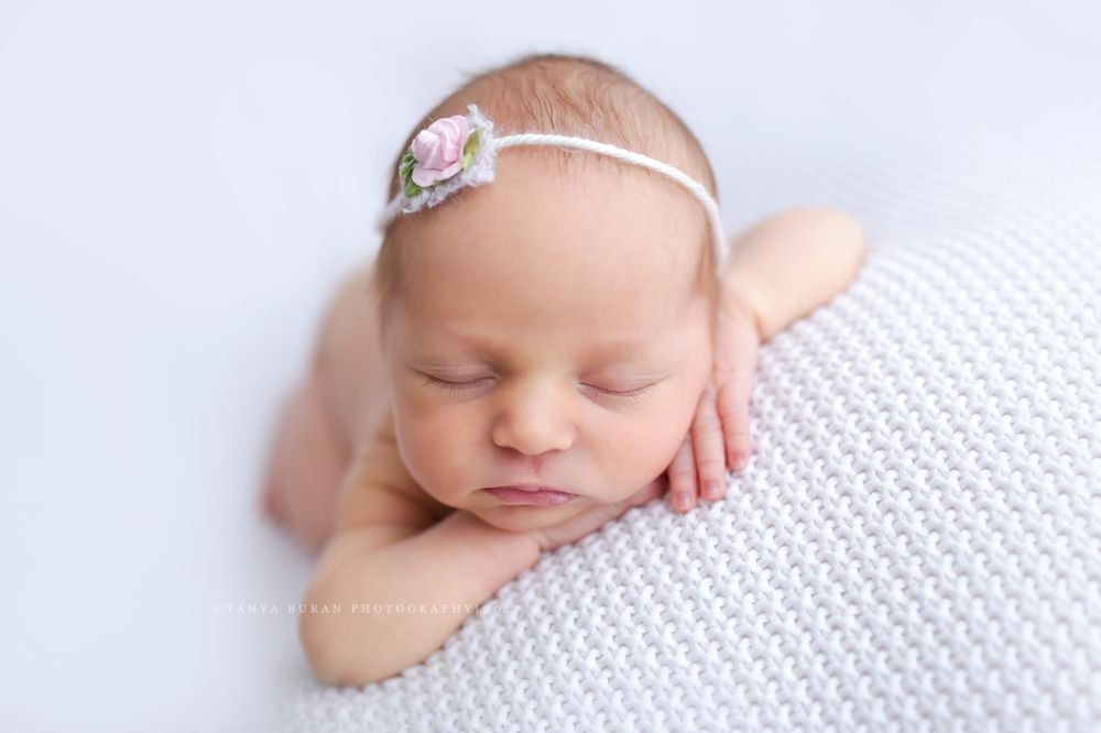07320c639 Baby girl newborn session by Tanya Buran Photography. Jersey City ...