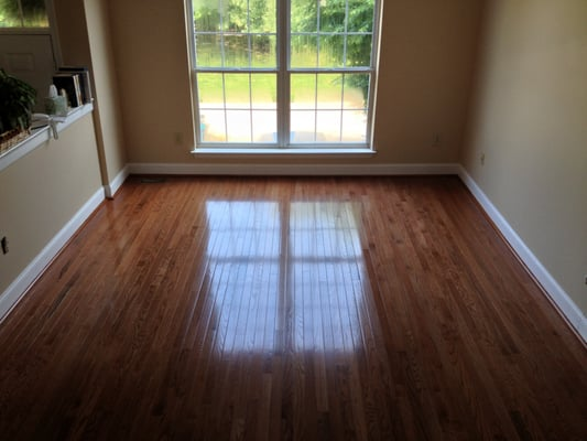 Bruce Hardwood Floor In Gunstock Oak In Wilmington De Yelp
