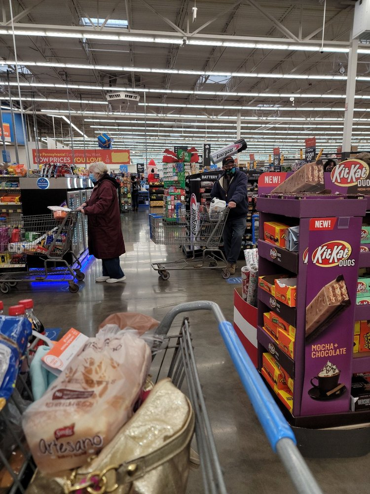 Walmart Supercenter: 1102 Million Dollar Hwy, Saint Marys, PA