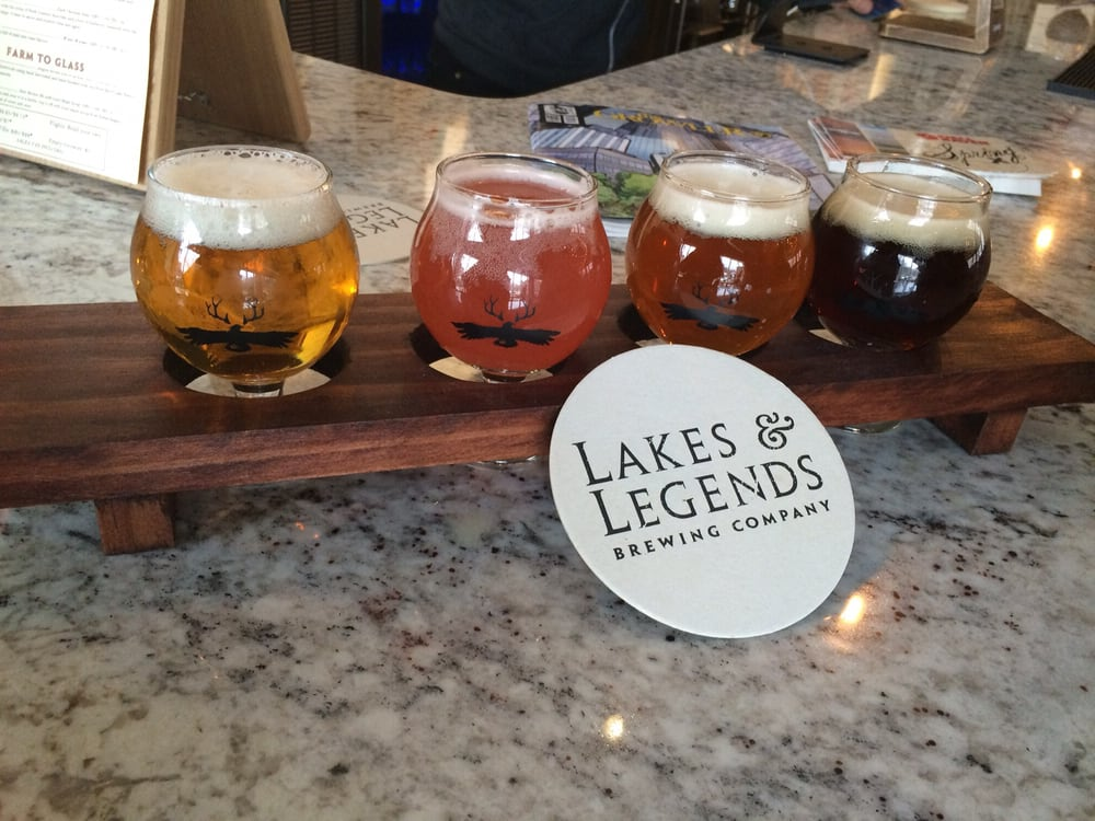 Lakes & Legends Brewing