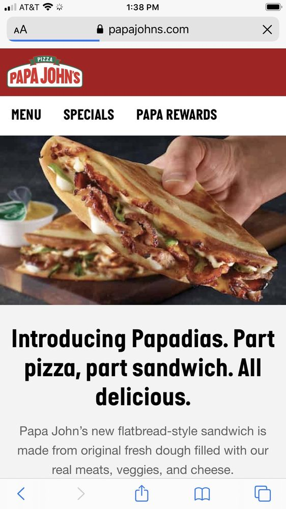 Papa John's Pizza: 13 Bill Robison Parkway, Anniston, AL