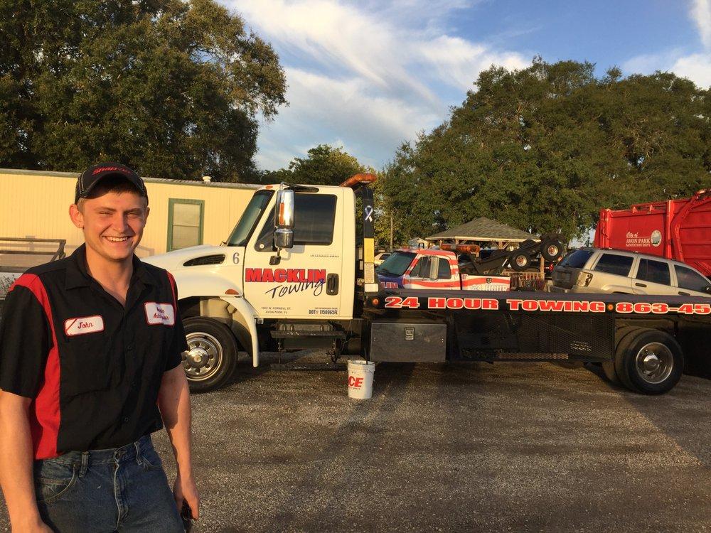 Macklin Auto Repair & Towing: 1002 W Cornell St, Avon Park, FL