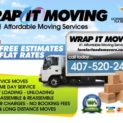Wrap It Moving - 129 Photos & 16 Reviews - Movers - 501 S