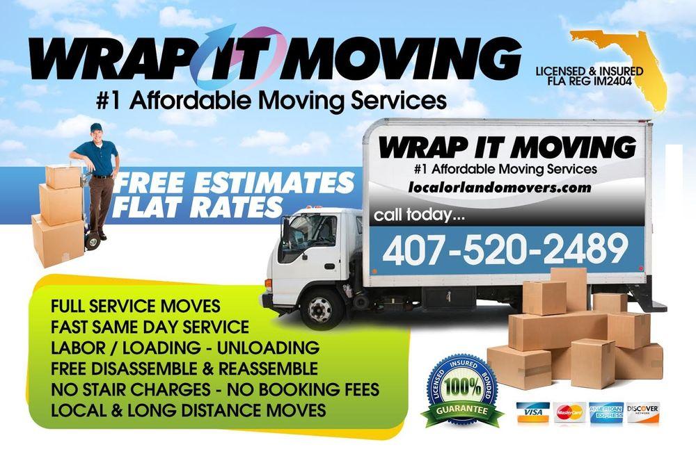 Wrap It Moving: 501 S Kirkman Rd, Orlando, FL
