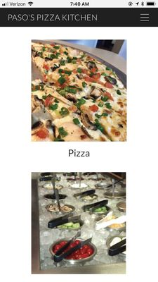 Find Related Places. Pizza