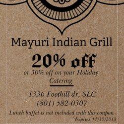 Mayuri Indian Grill
