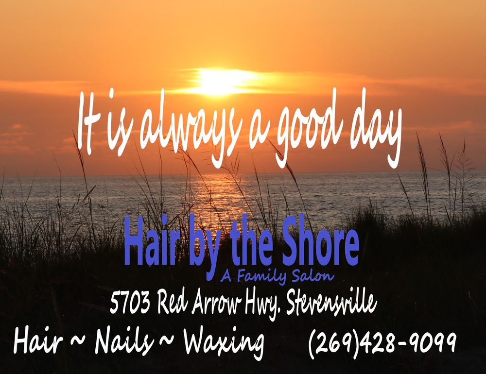Hair By The Shore: 5703 Red Arrow Hwy, Stevensville, MI
