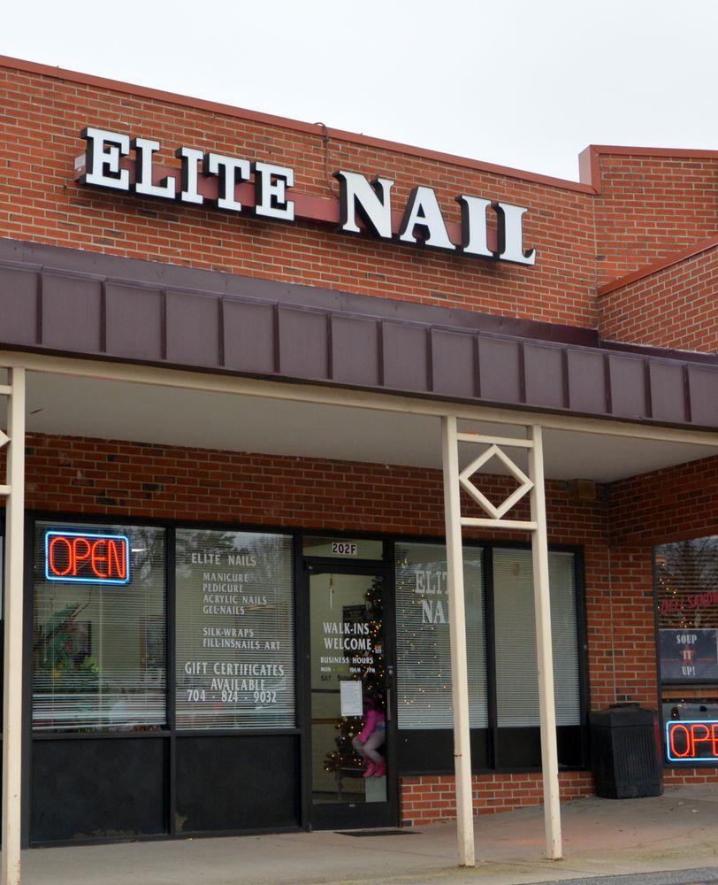 Elite Nails: 202 Market St, Cramerton, NC