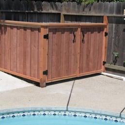 Photo Of Estrada Services Manteca Ca United States Pool Equipment Enclosures  With Pool Equipment Enclosures.