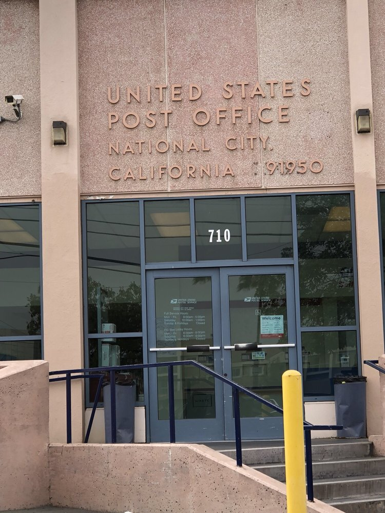 US Post Office: 710 E 16Th St, National City, CA
