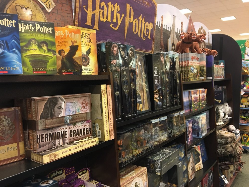 Harry Potter Section Yelp