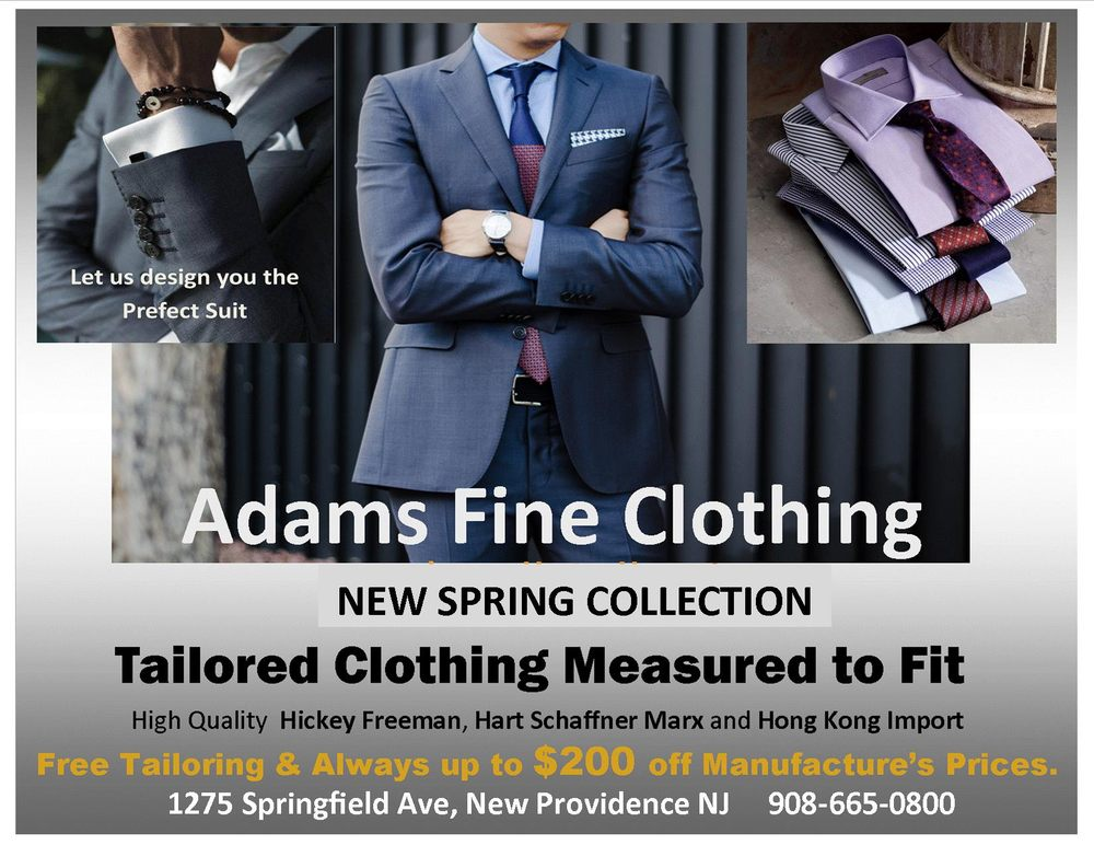 Adams Fine Clothing & Tuxedo