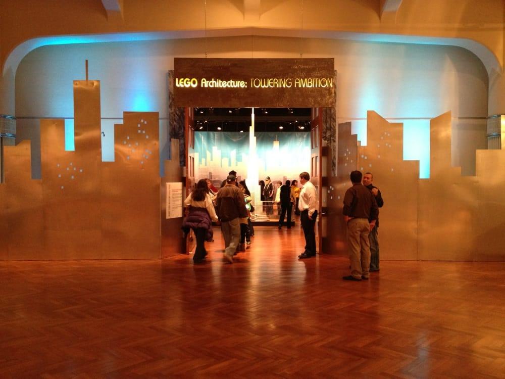Lego Architecture: Tower Ambition: 20900 Oakwood Blvd, Dearborn, MI
