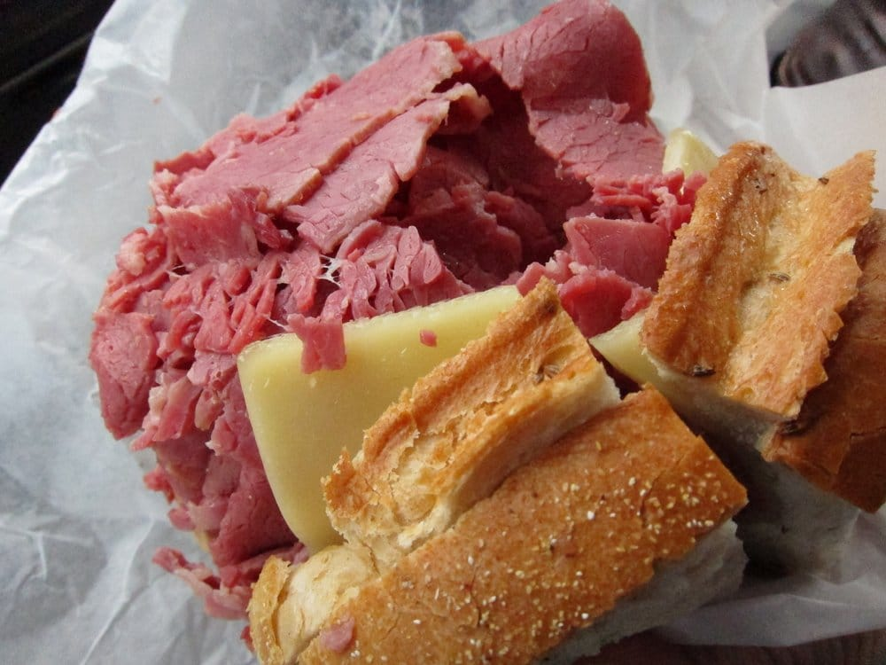 Absolutely Out Of This World Corned Beef Sandwich At Slyman S In Cleveland Oh Yelp