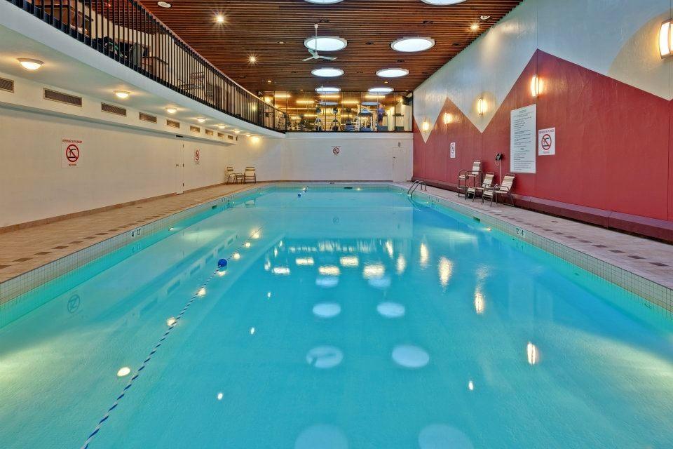 Salt Water Lap Swimming Pool Holiday Inn Midtown Montreal Yelp
