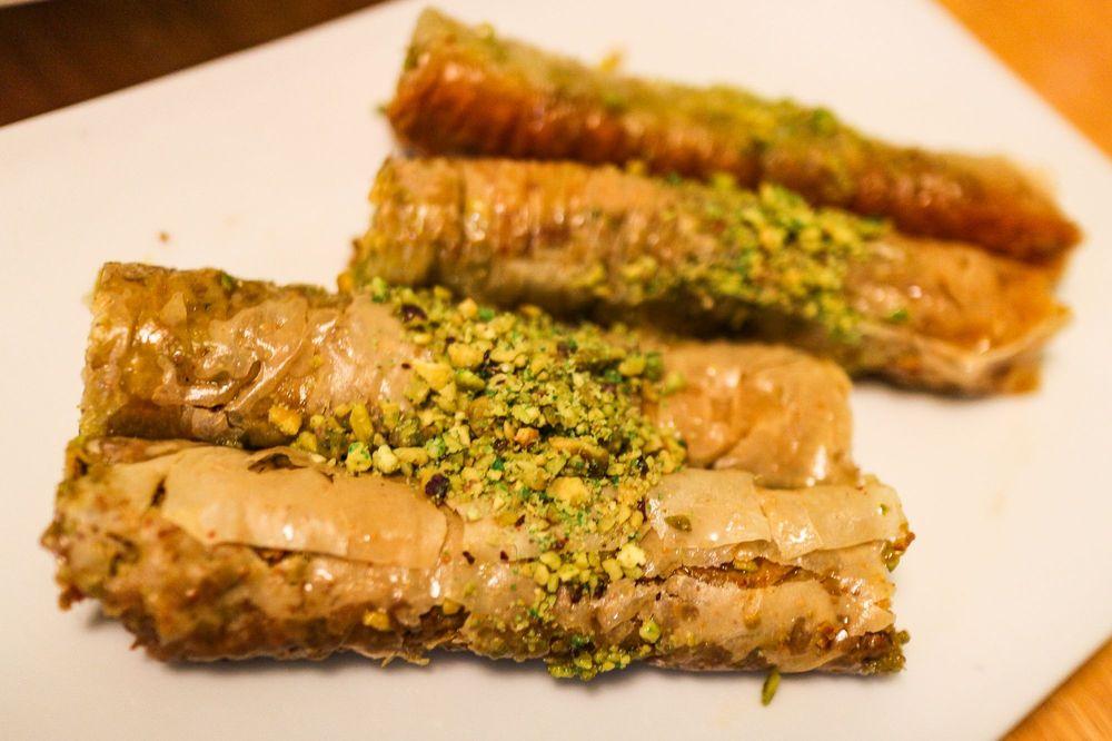 Food from Rumi Kabob