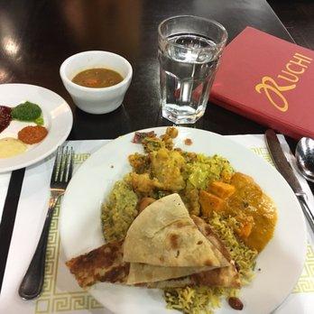 Ruchi Indian Restaurant Sacramento Menu