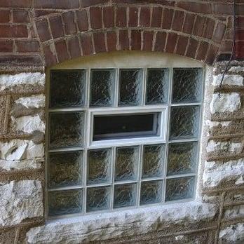 Beautiful Basement Glass Block Windows