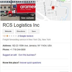 Aramex International Courier - 21 Reviews - Couriers & Delivery