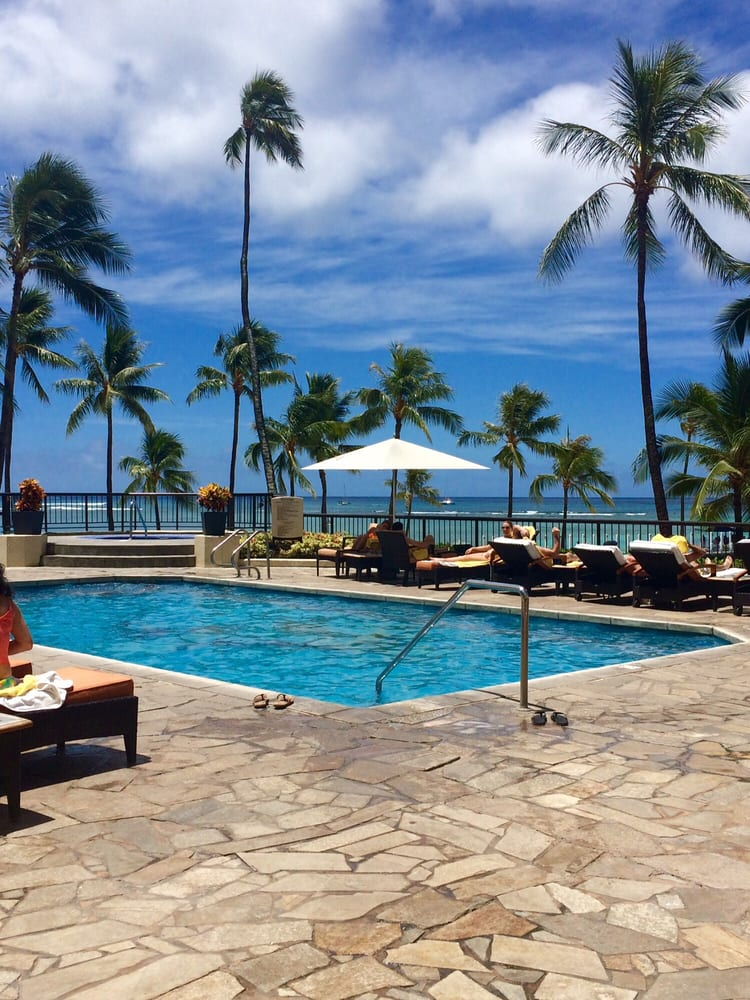Hilton Hawaiian Village Waikiki Beach Photo Gallery: Access To The 2nd Floor Private Pool Was A Plus Which Also