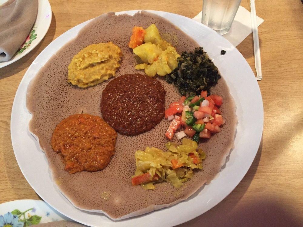 Lalibela Ethiopian Restaurant: 1621 South Walter Reed Dr, Arlington, VA