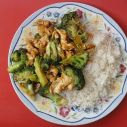 Photo Of Golden China Kitchen   Paterson, NJ, United States. Chicken And  Broccoli