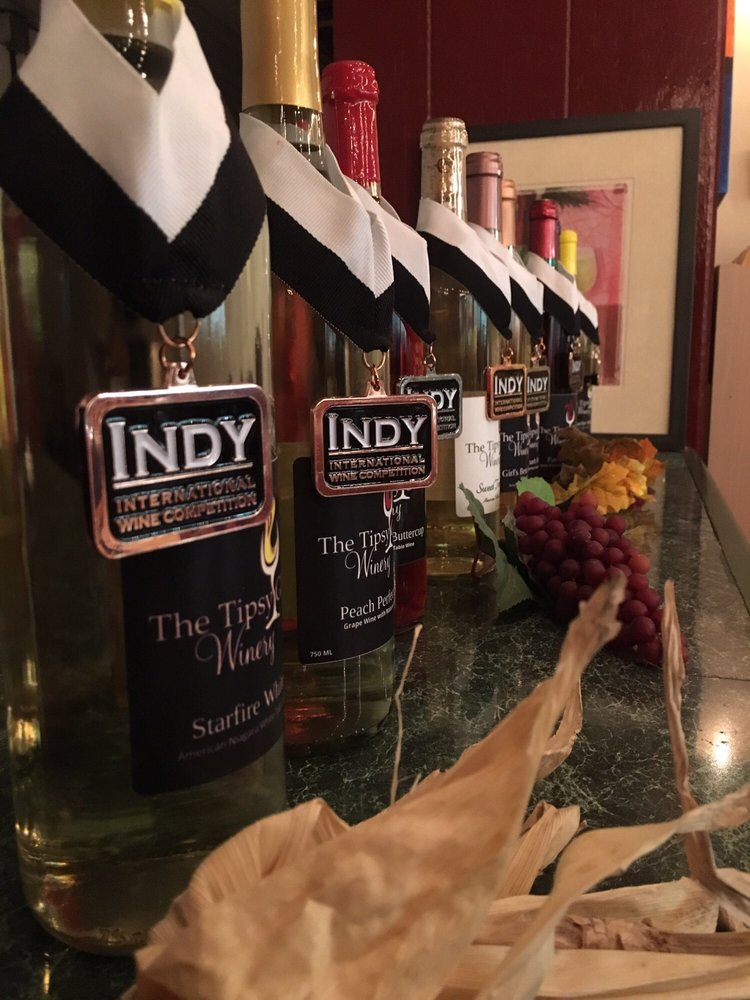 The Tipsy Glass Winery: 8685 N 400th E, Bryant, IN