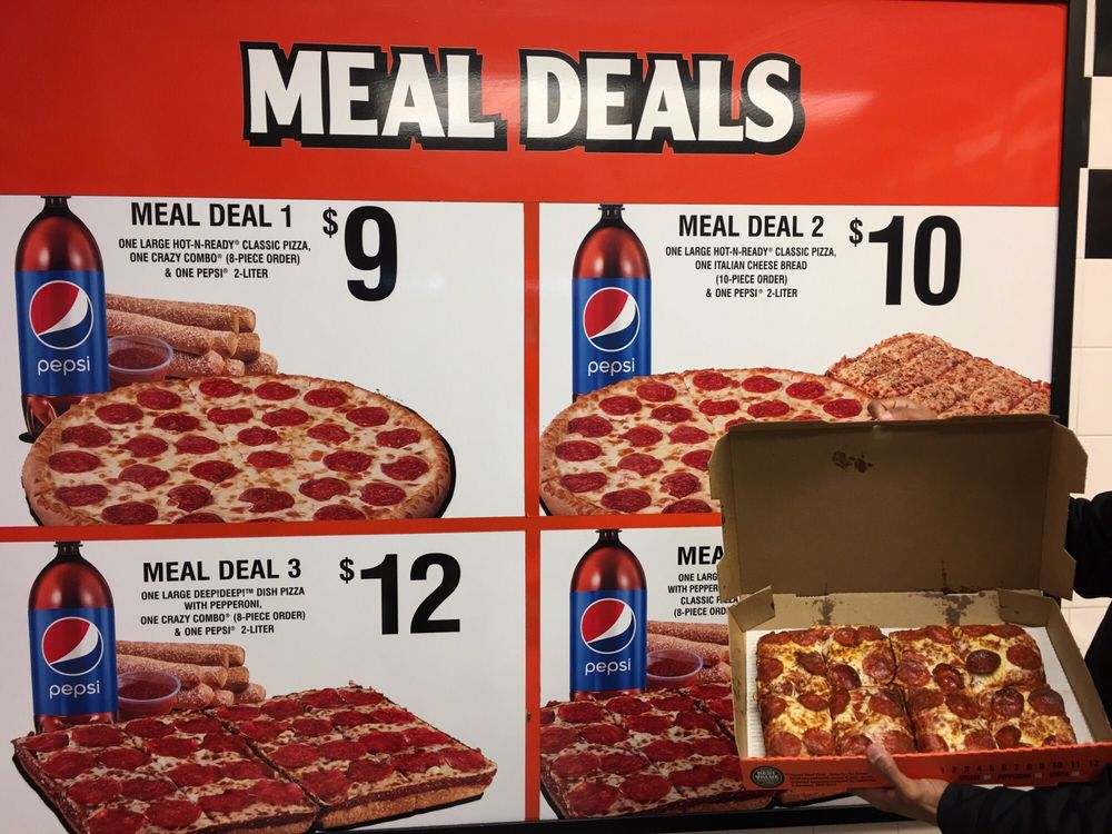 little caesars meal deals lamoureph blog. Black Bedroom Furniture Sets. Home Design Ideas