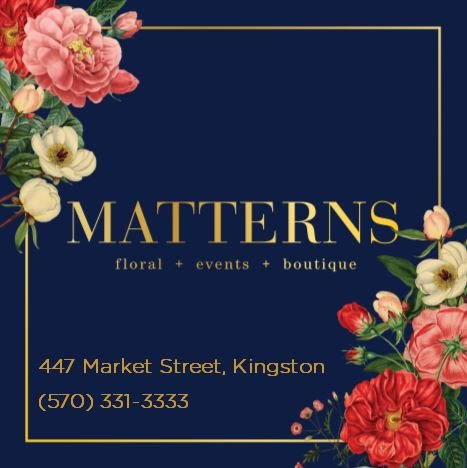 Mattern Flower Shop: 447 Market St, Kingston, PA