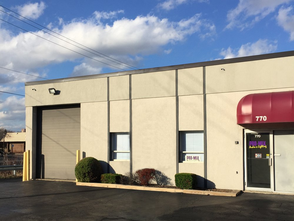 Pro-Mix Audio & Lighting: 770 Birginal Dr, Bensenville, IL
