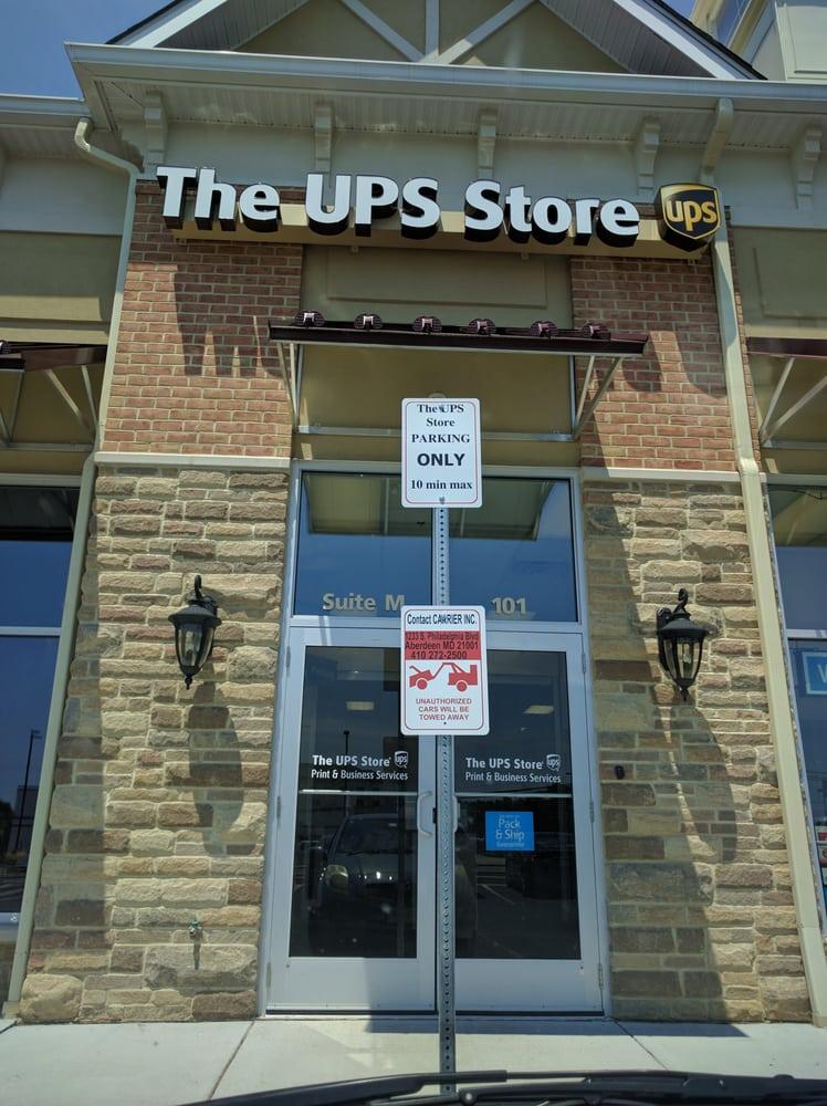 The UPS Store: 1013 Beards Hill Rd, Aberdeen, MD