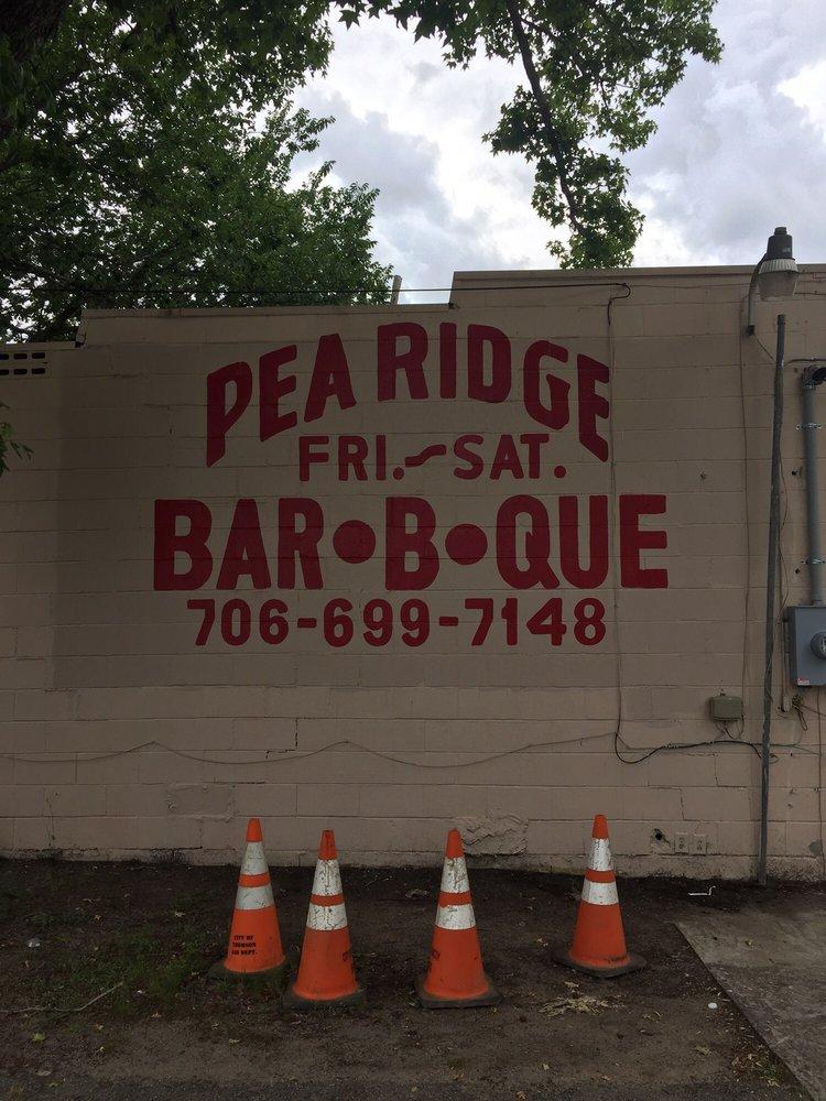 Pea Ridge Bar-B-Que: 4574 Augusta Rd, Dearing, GA