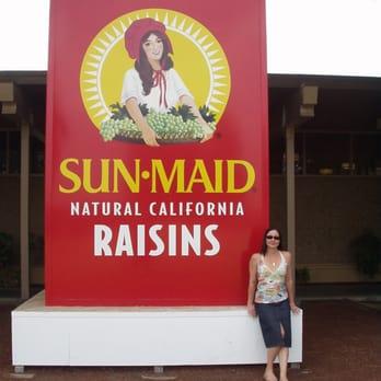 Sun Maid Factory Tour