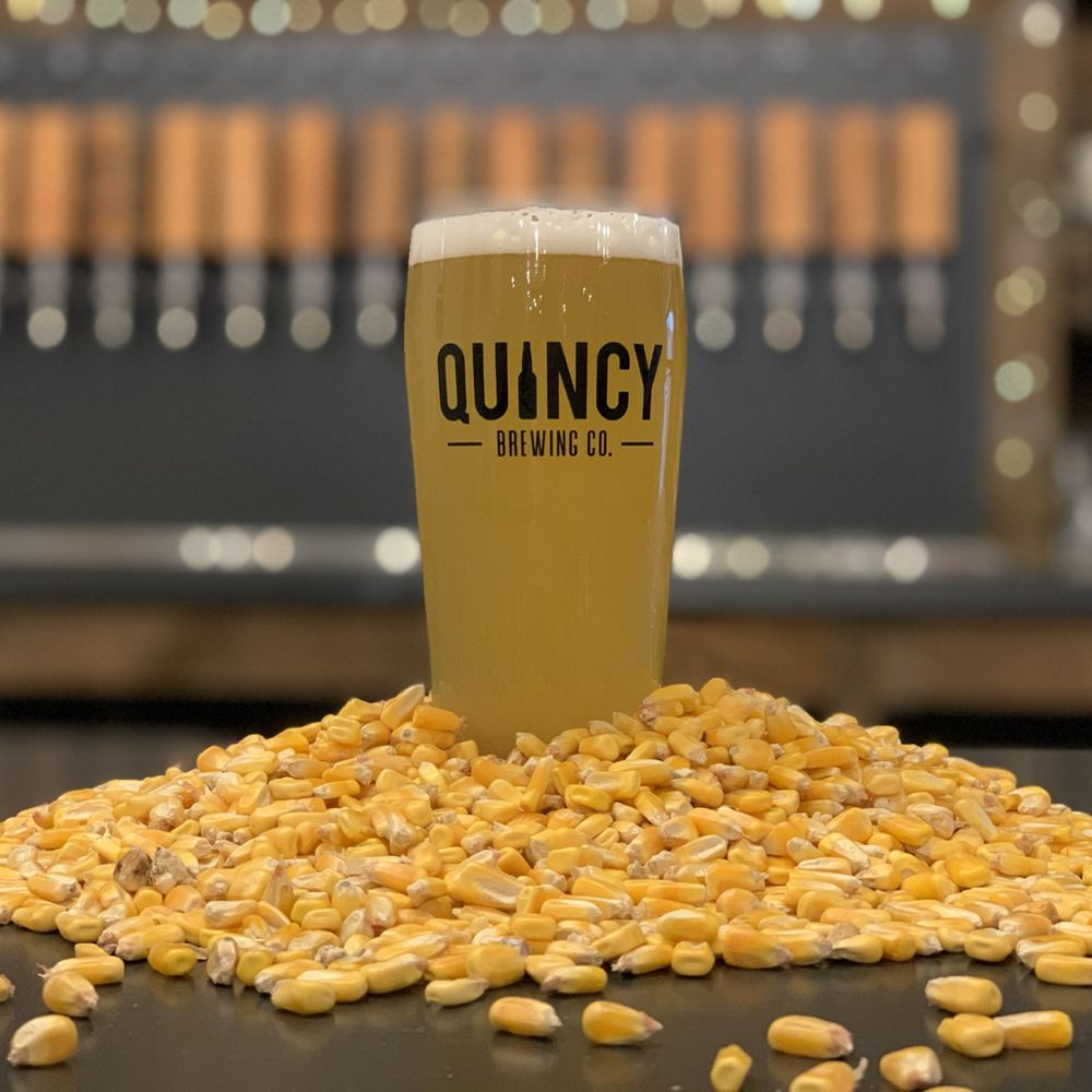 Food from Quincy Brewing Company