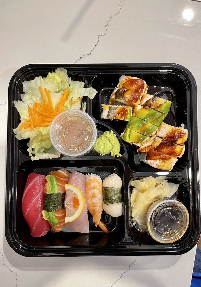 Food from Quick Sushi