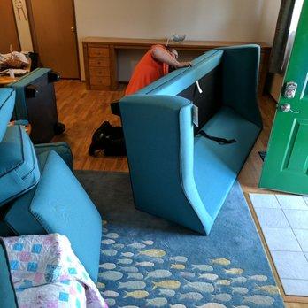 Superb Photo Of Beharu0027s Furniture   Everett, WA, United States. Attaching The Feet.