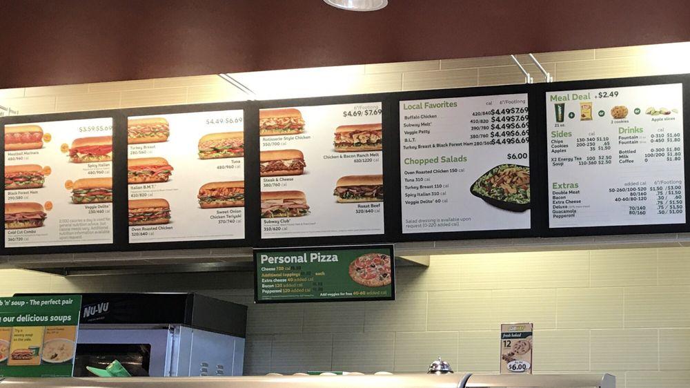 Subway: 743 N Milwaukee Ave, Wheeling, IL