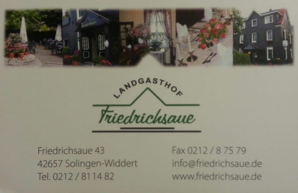 gastst tte haus friedrichsaue restaurants. Black Bedroom Furniture Sets. Home Design Ideas